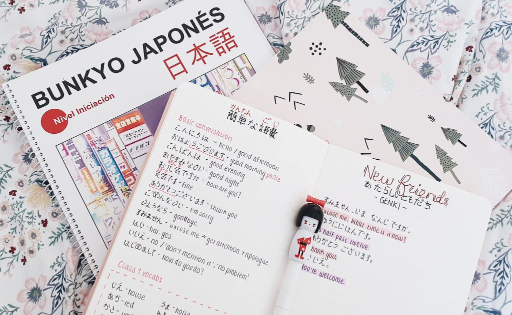 Learning Japanese Study Notes, Beginners