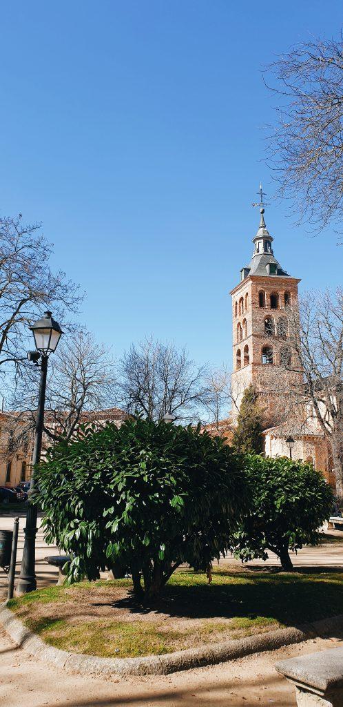 Segovia park summer