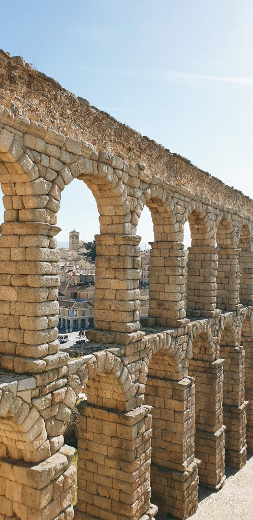 Aqueduct of Segovia Summer