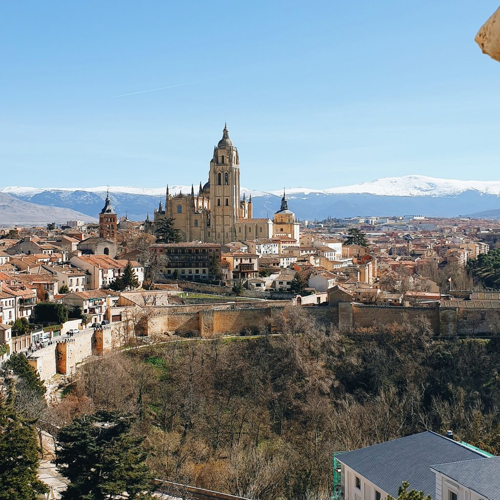 View from el Alcázar de Segovia