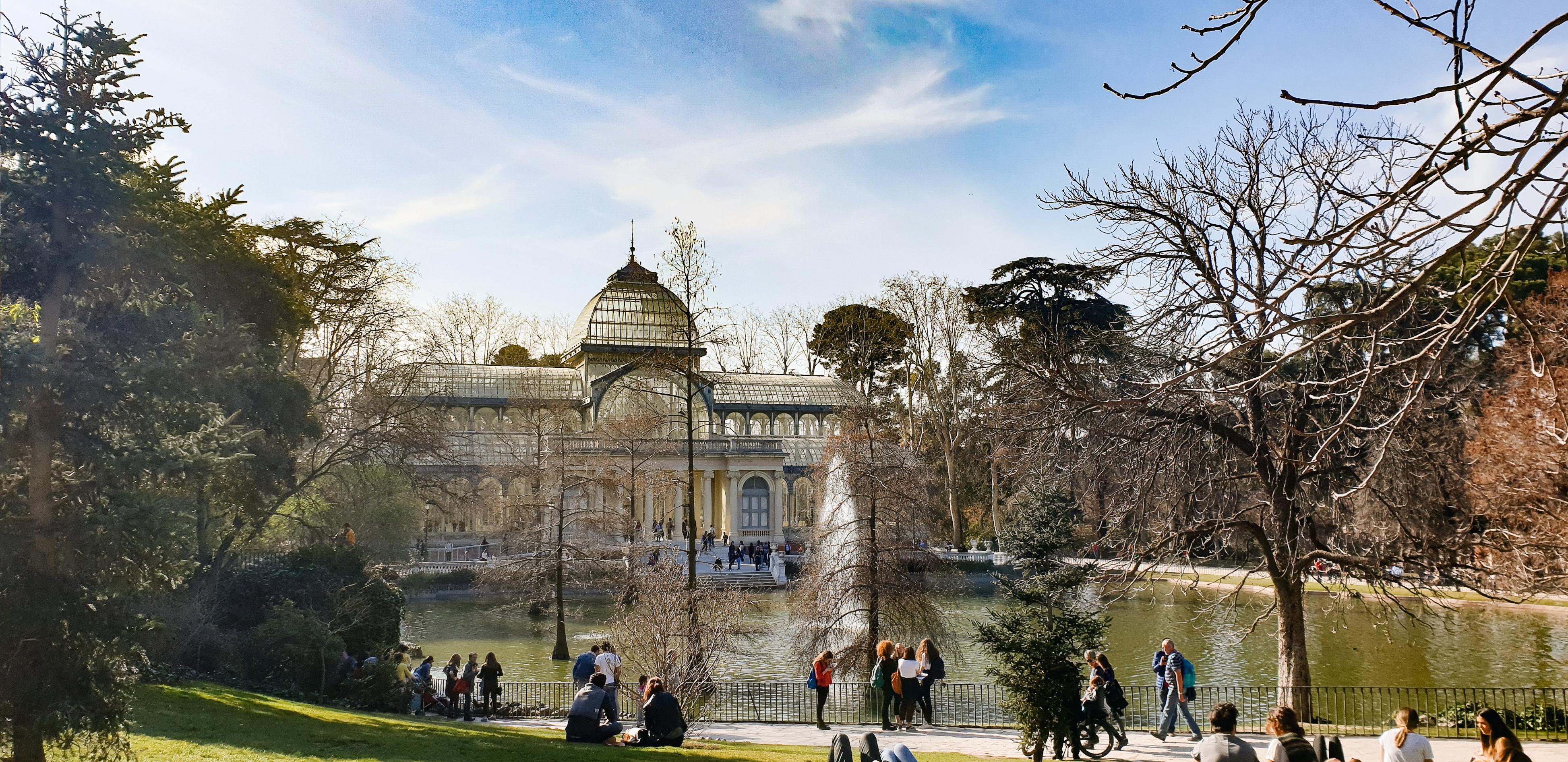 El Palacio de Cristal Retiro Park