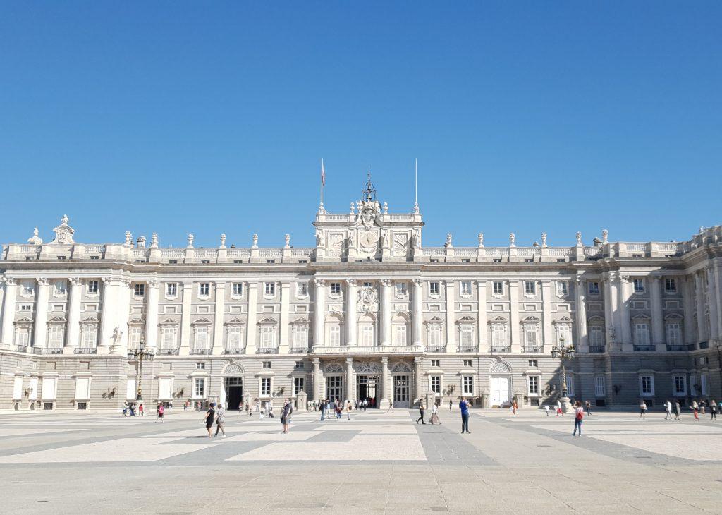 El Palacio Real de Madrid en verano