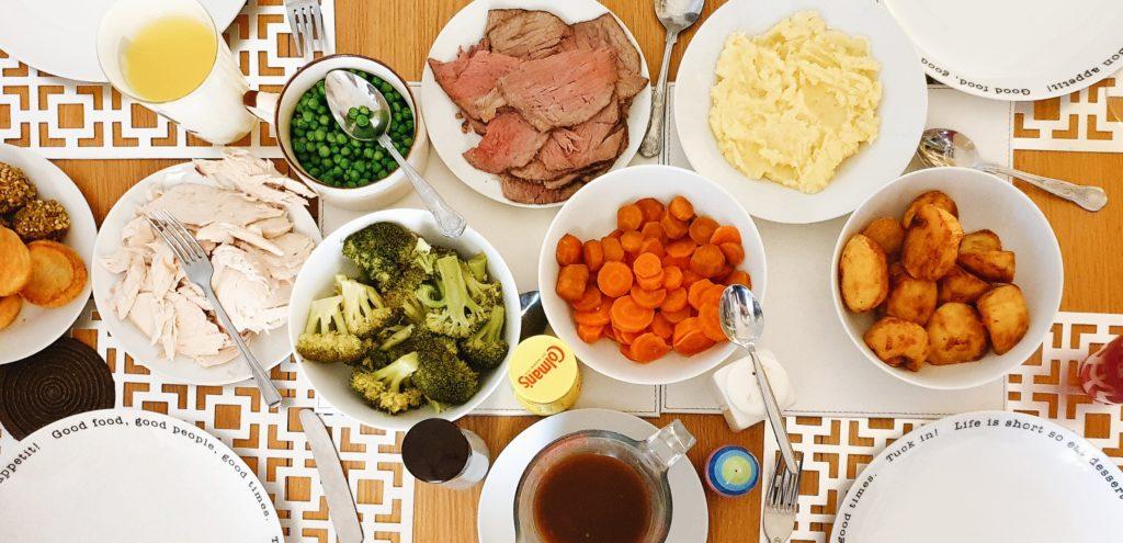 A Family's Sunday Roast Dinner
