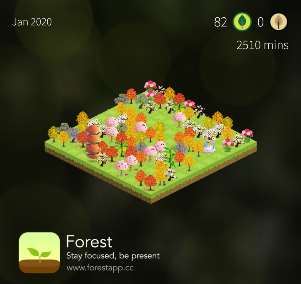 Forest app screenshot