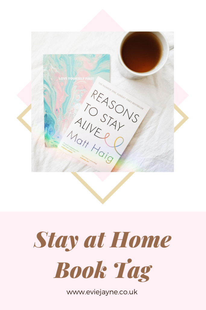 Stay at Home Book Tag