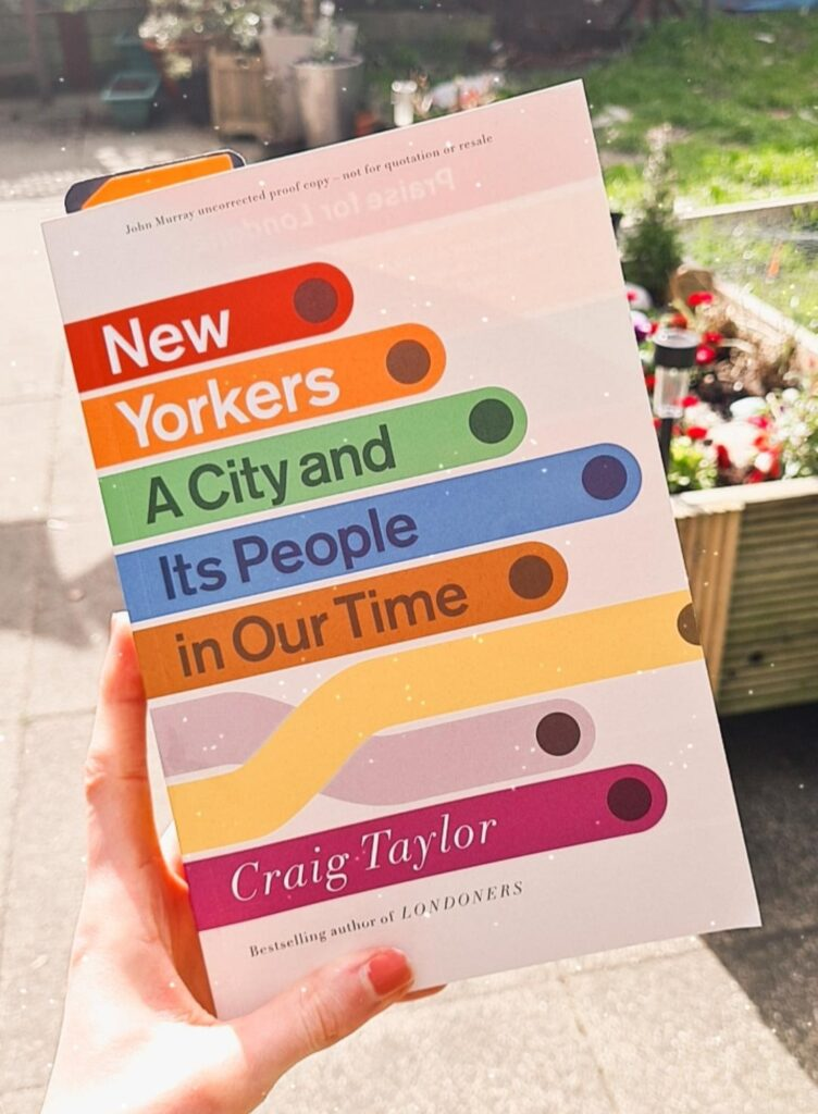 New Yorkers Craig Taylor non-fiction